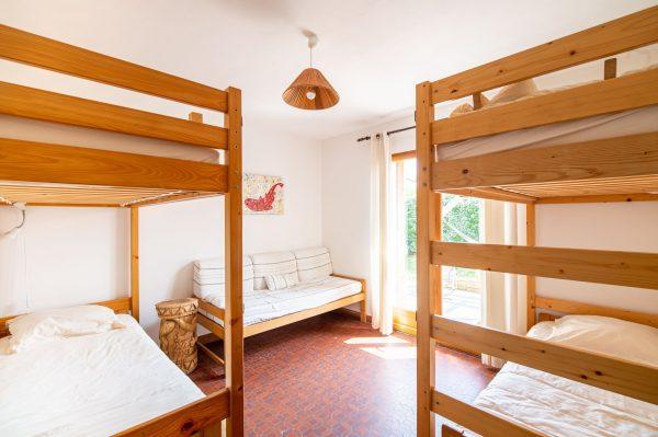 Chambre 4 personnes Villa Tiki